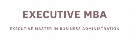 EMBA - Executive Master in Business Administration